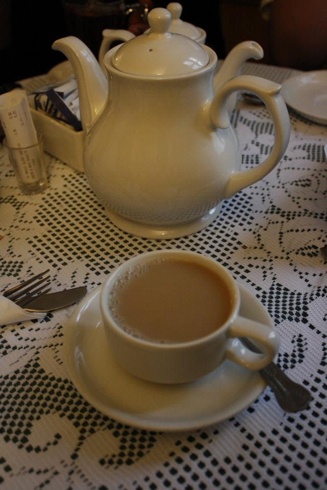 Tea in Cambridge