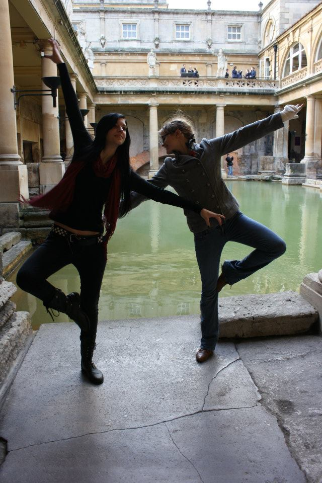 Dancing at the Roman Baths