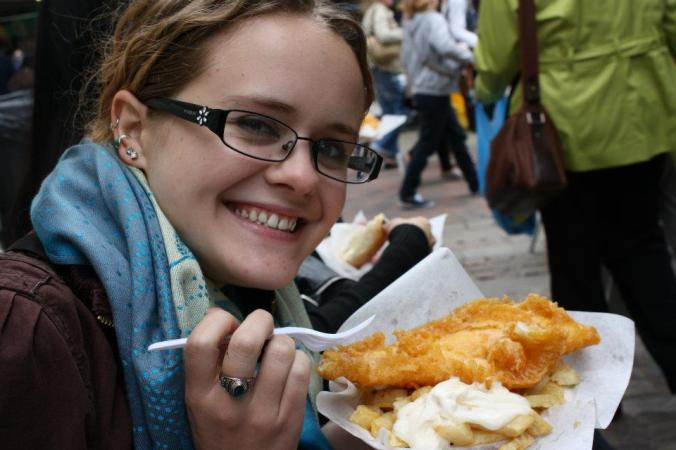 Fish n Chips in Canterbury