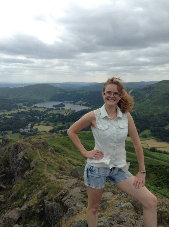 Atop Helm Crag. That view was stunning.