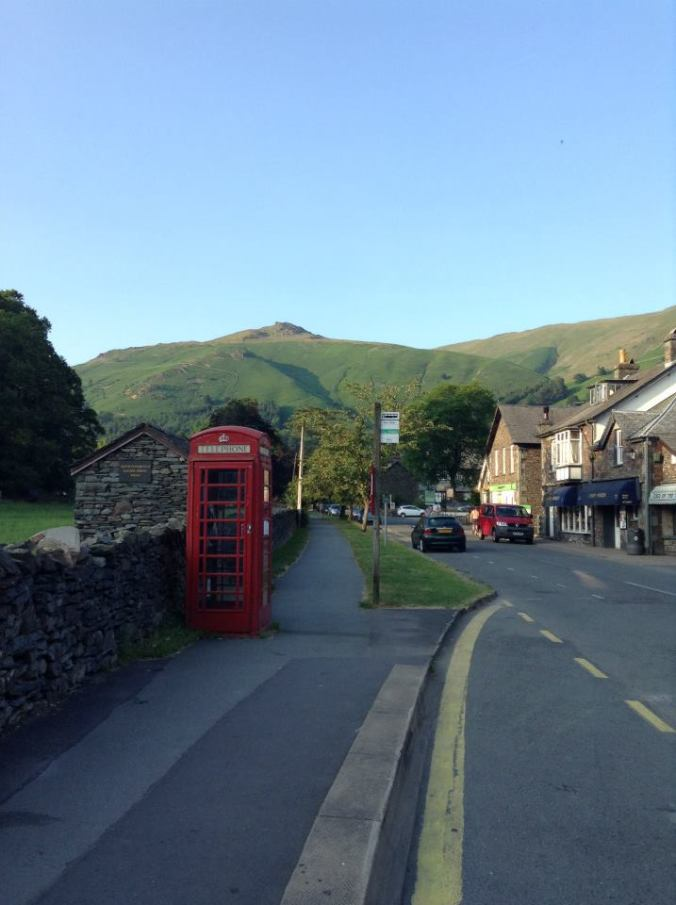 The lovely little town of Grasmere.