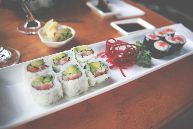 Indie Cafe | Alaskan Roll