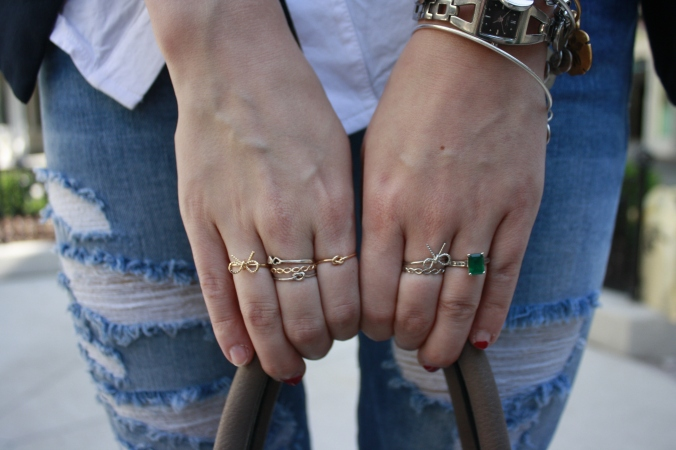 forever 21 stacking rings