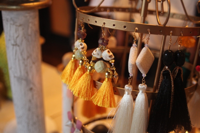 be buddha jewelry tassel earrings