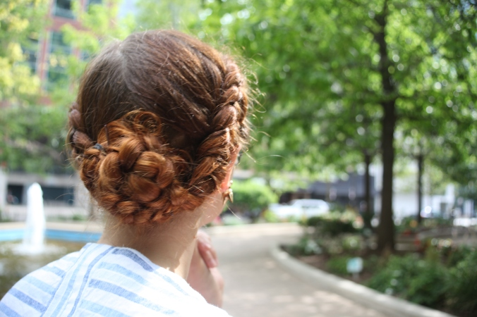 Double Dutch Braid Bun | Stile.Foto.Cibo