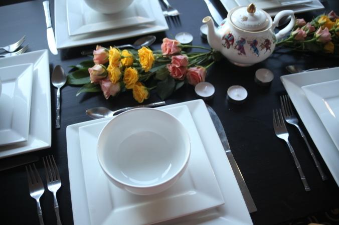 British Dinner Party tablescape | Stile.Foto.Cibo