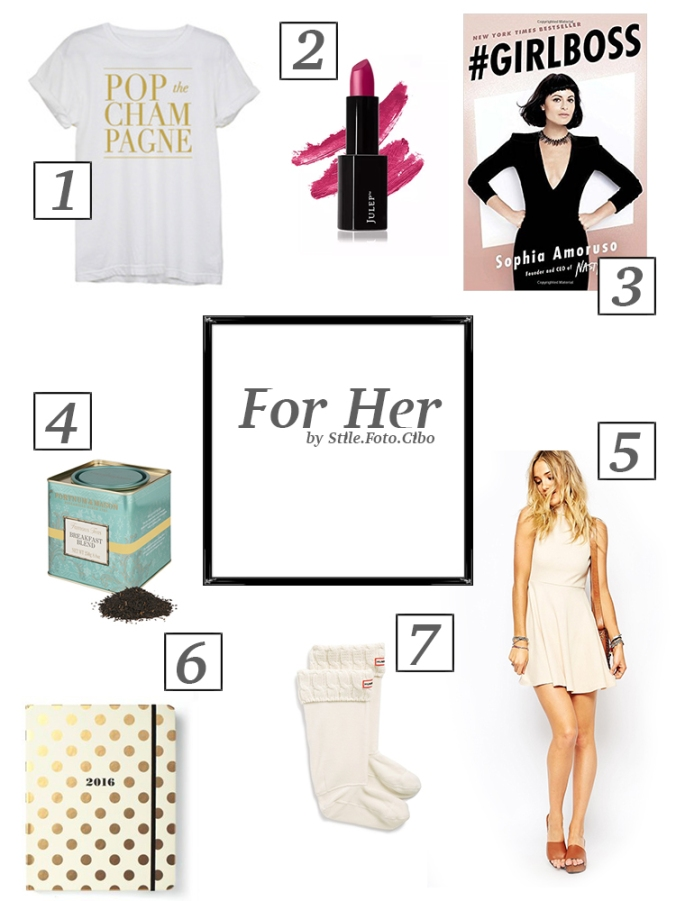 Gift Guide for Her by Stile.Foto.Cibo