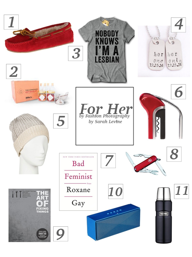 Gift Guide for Her by Fashion Photography by Sarah Levine