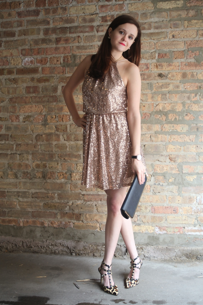 Sequin New Year's Eve Dress | Stile.Foto.Cibo