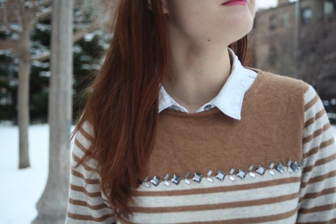 J. Crew Factory Sweater | Stile.Foto.Cibo