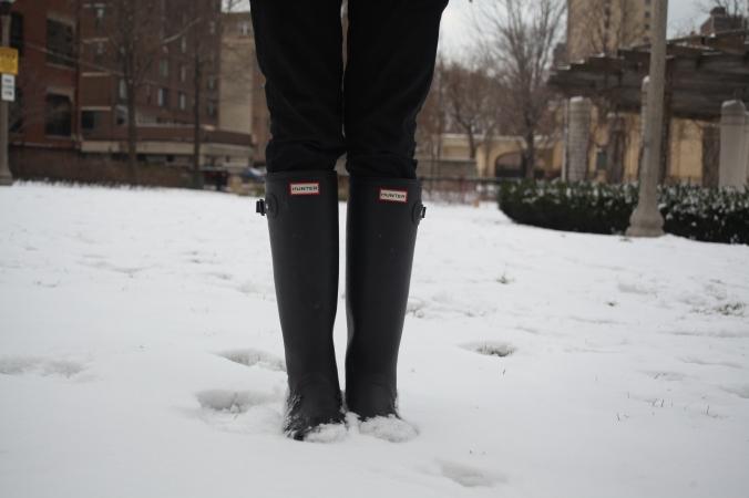 Hunter boots | Stile.Foto.Cibo