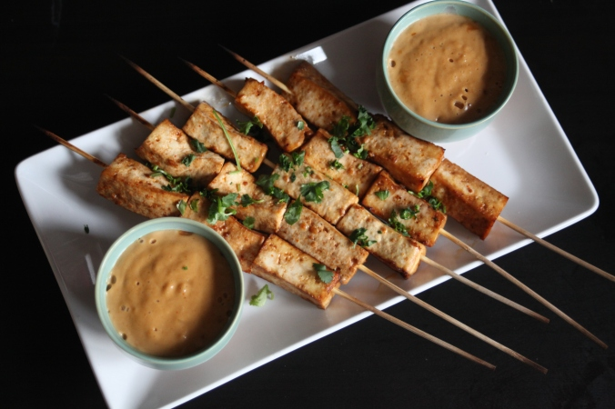 Vegan Tofu Satay | Stile.Foto.Cibo