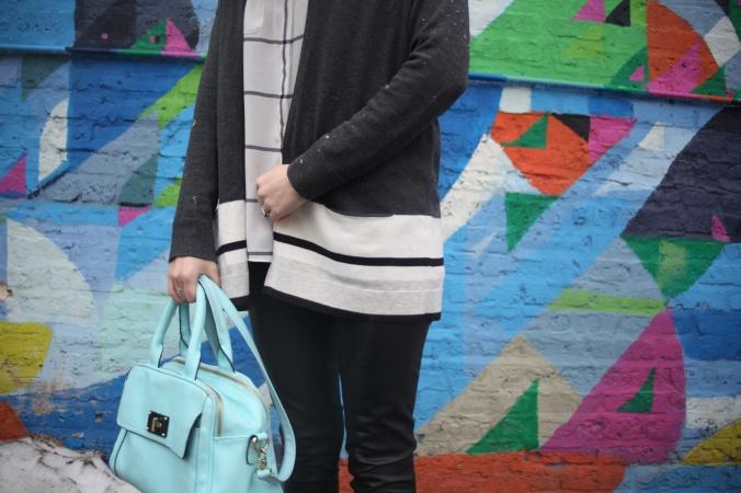 LOFT cardigan and blouse | Stile.Foto.Cibo