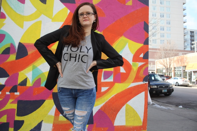 Holy Chic t-shirt from stupidstyle on Etsy | Stile.Foto.Cibo