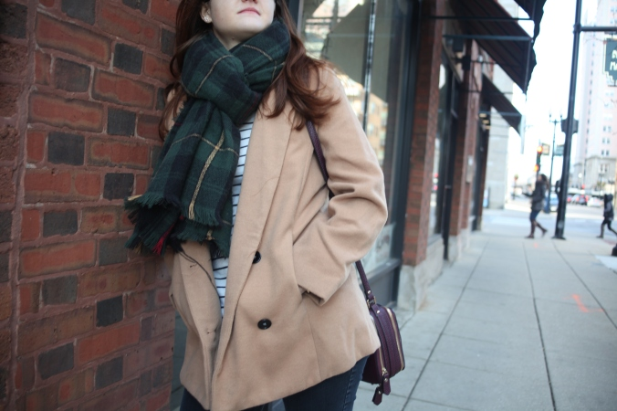 SheIn Coat, NovelStyle Bag, Leopard and Latte Scarf | Stile.Foto.Cibo