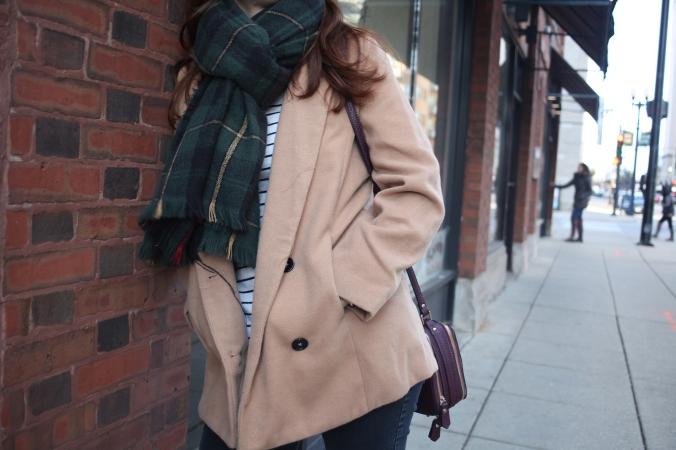 SheIn Coat, NovelStyle Bag, Leopard and Latte Scarf   Stile.Foto.Cibo