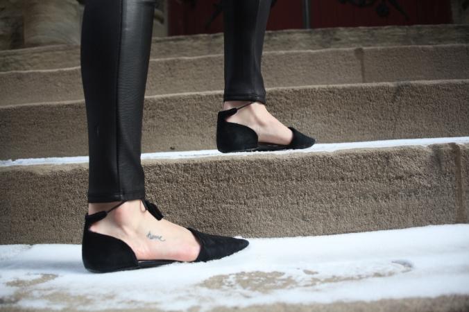 Topshop Lace Up Flats | Stile.Foto.Cibo