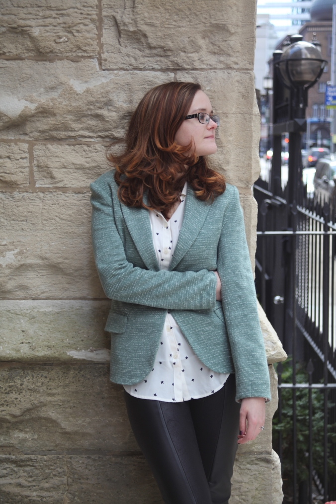 Anthropologie Blazer & LOFT Blouse | Stile.Foto.Cibo
