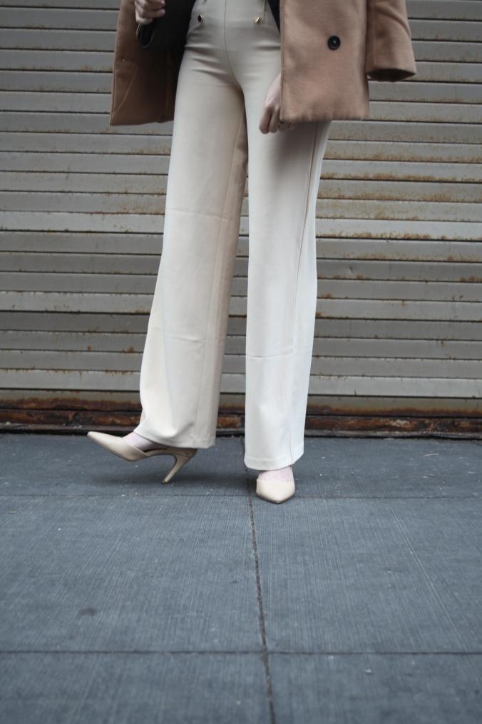 High Waisted Forever 21 Pants | Stile.Foto.Cibo