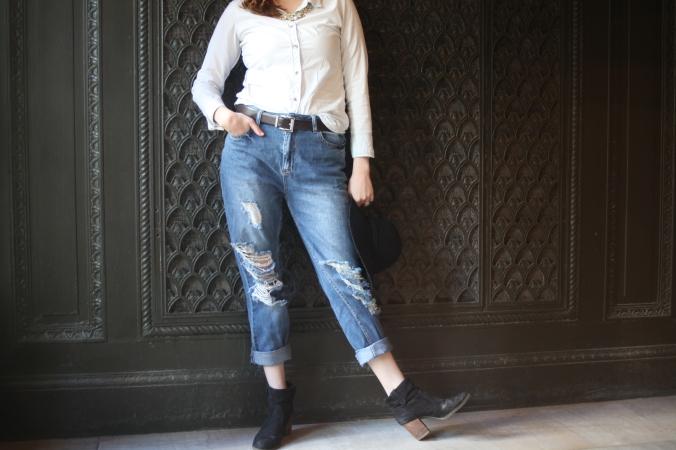 Forever 21 boyfriend jeans | Stile.Foto.Cibo