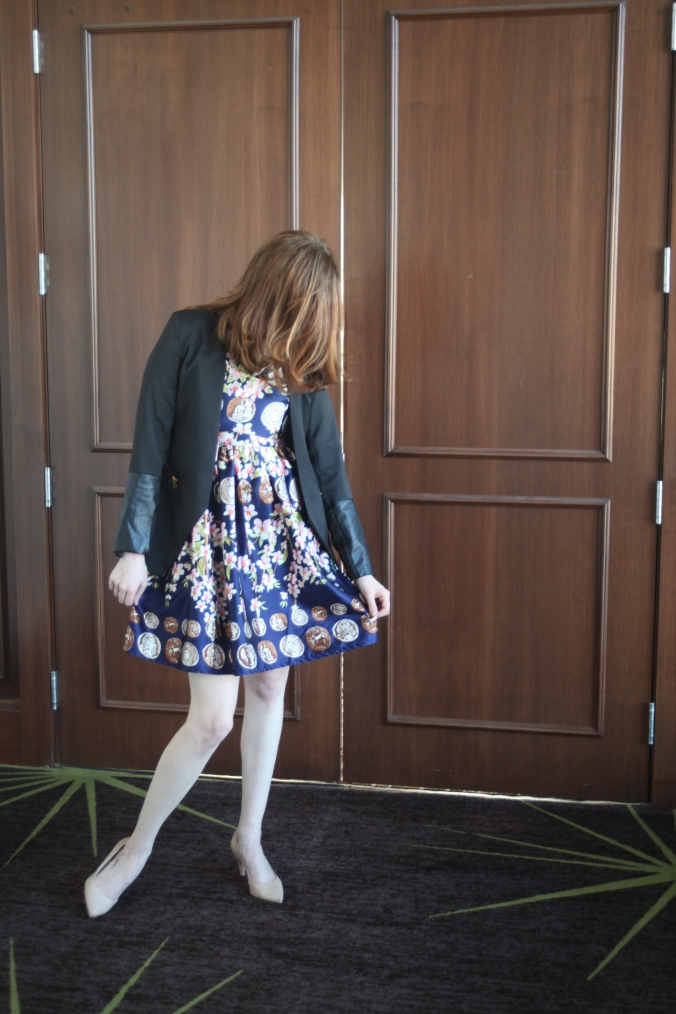 SheInside Dress and Blazer | Stile.Foto.Cibo