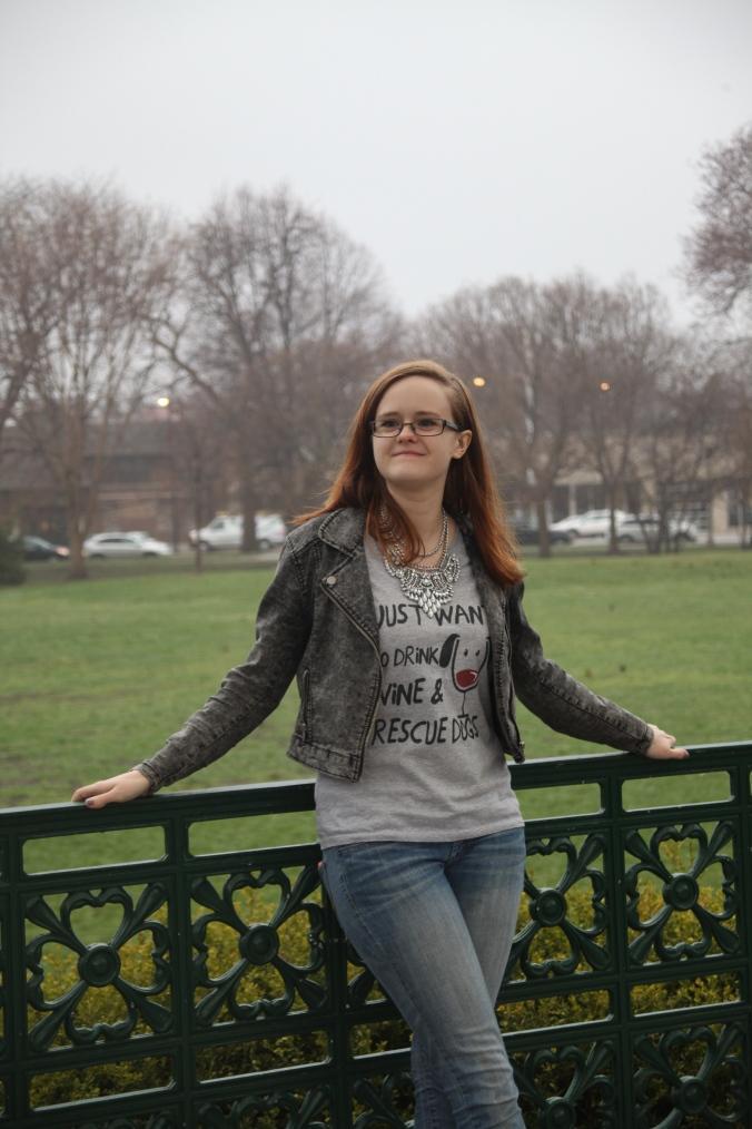 IHeartDogs.com shirt in collaboration with New Leash on Life Chicago   Stile.Foto.Cibo