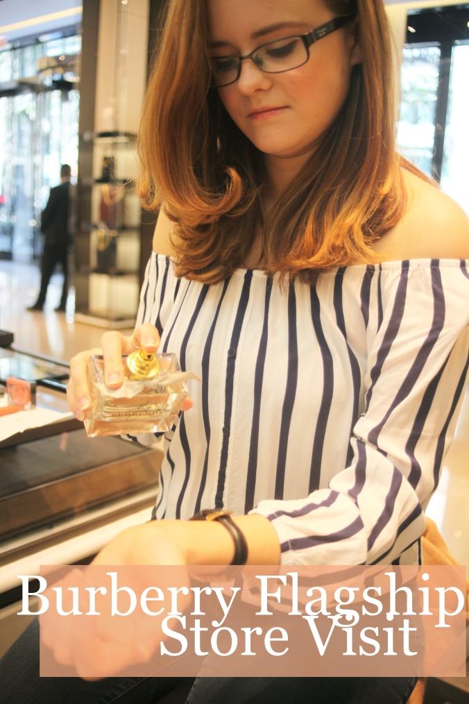 Burberry Flagship Store Visit | Stile.Foto.Cibo