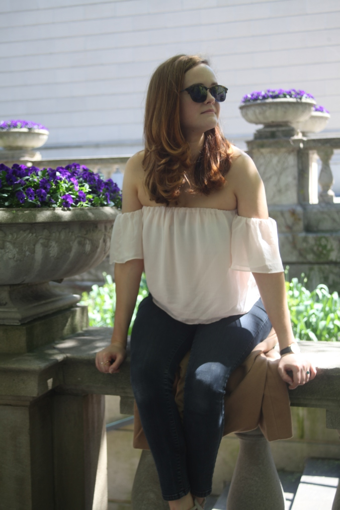 Spring Style, Forever 21 Off the Shoulder Top | Stile.Foto.Cibo