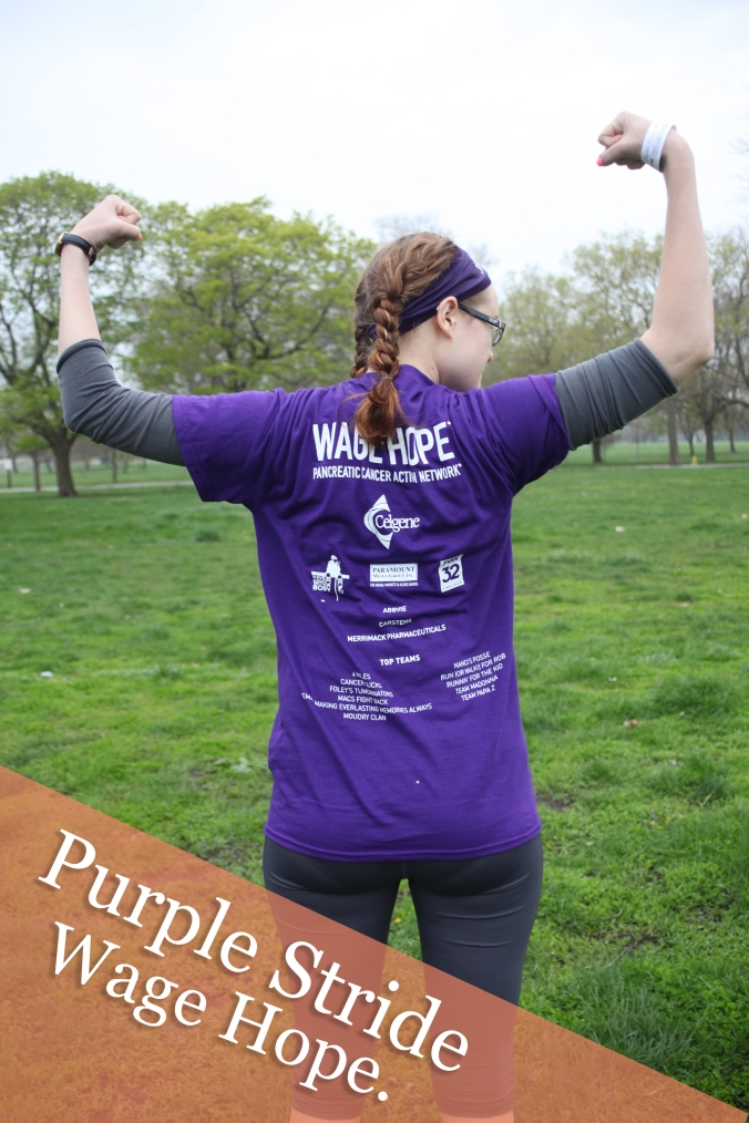 PurpleStride. Wage Hope in the fight against Pancreatic Cancer | Stile.Foto.Cibo
