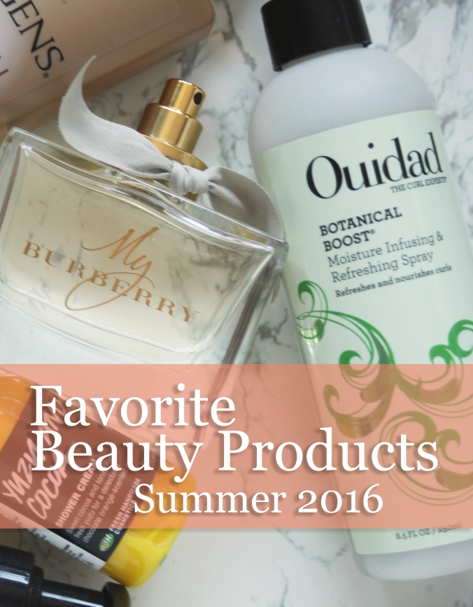 My Favorite Beauty Products, Summer 2016 | Stile.Foto.Cibo