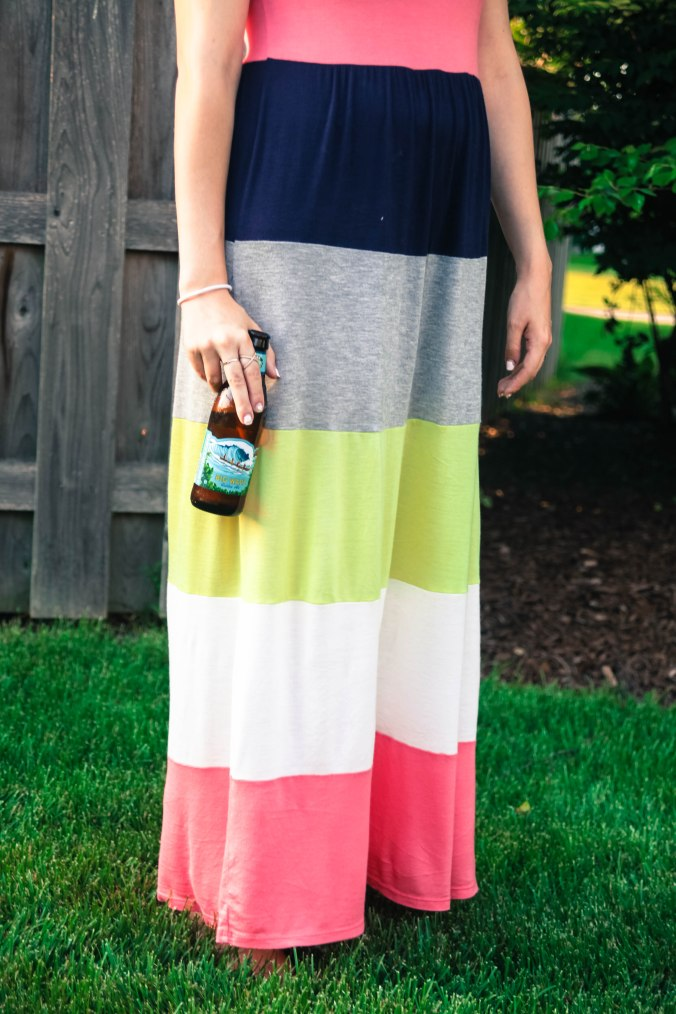 Summer Style in a Maxi Dress from Amazon Fashion | Stile.Foto.Cibo