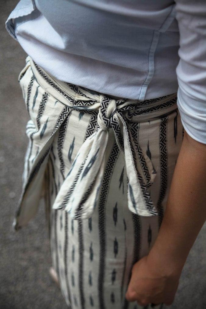 Summer Style: Wrap Skirt & Statement Earrings | Stile.Foto.Cibo